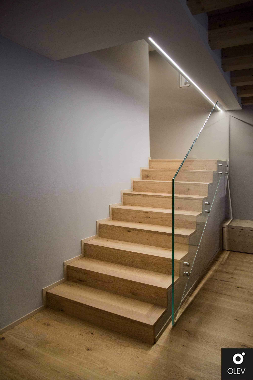 Scale Per Interni Misure come illuminare le scale nel segno dell'eleganza e del