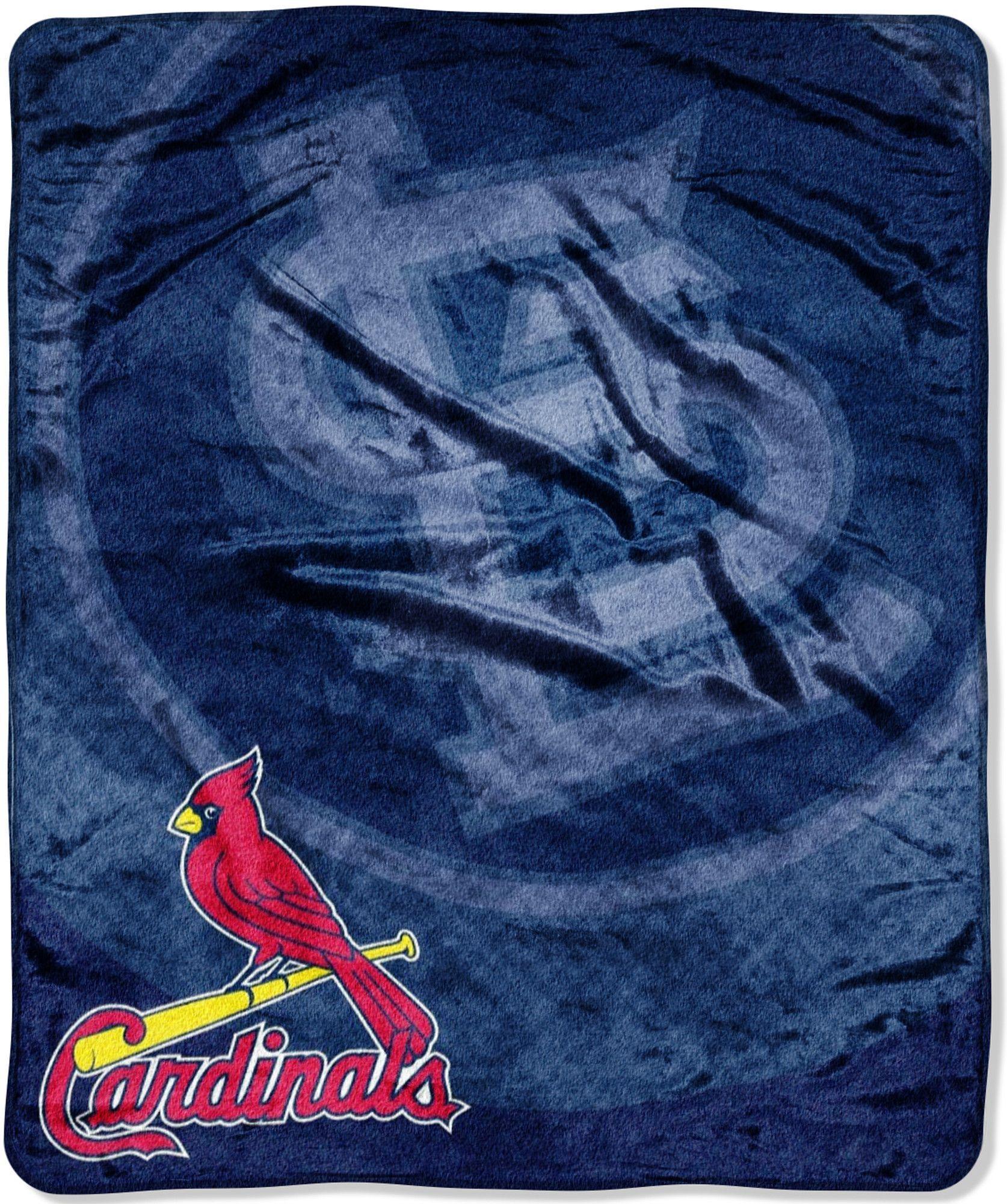 MLB St Louis Cardinals Retro Throw