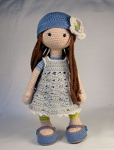 Doll LILLY pattern by CAROcreated design #instructionstodollpatterns