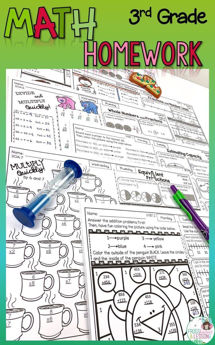 3rd grade homework help