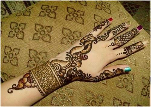 Desenhos Mehndi Significado : Stunning bangle mehndi designs to try in