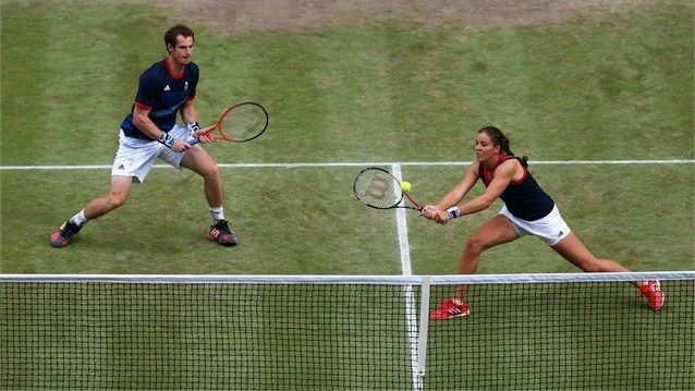 Image result for mixed tennis doubles
