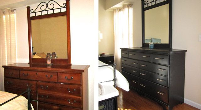 From Traditional To Modern Master Bedroom Furniture Makeover