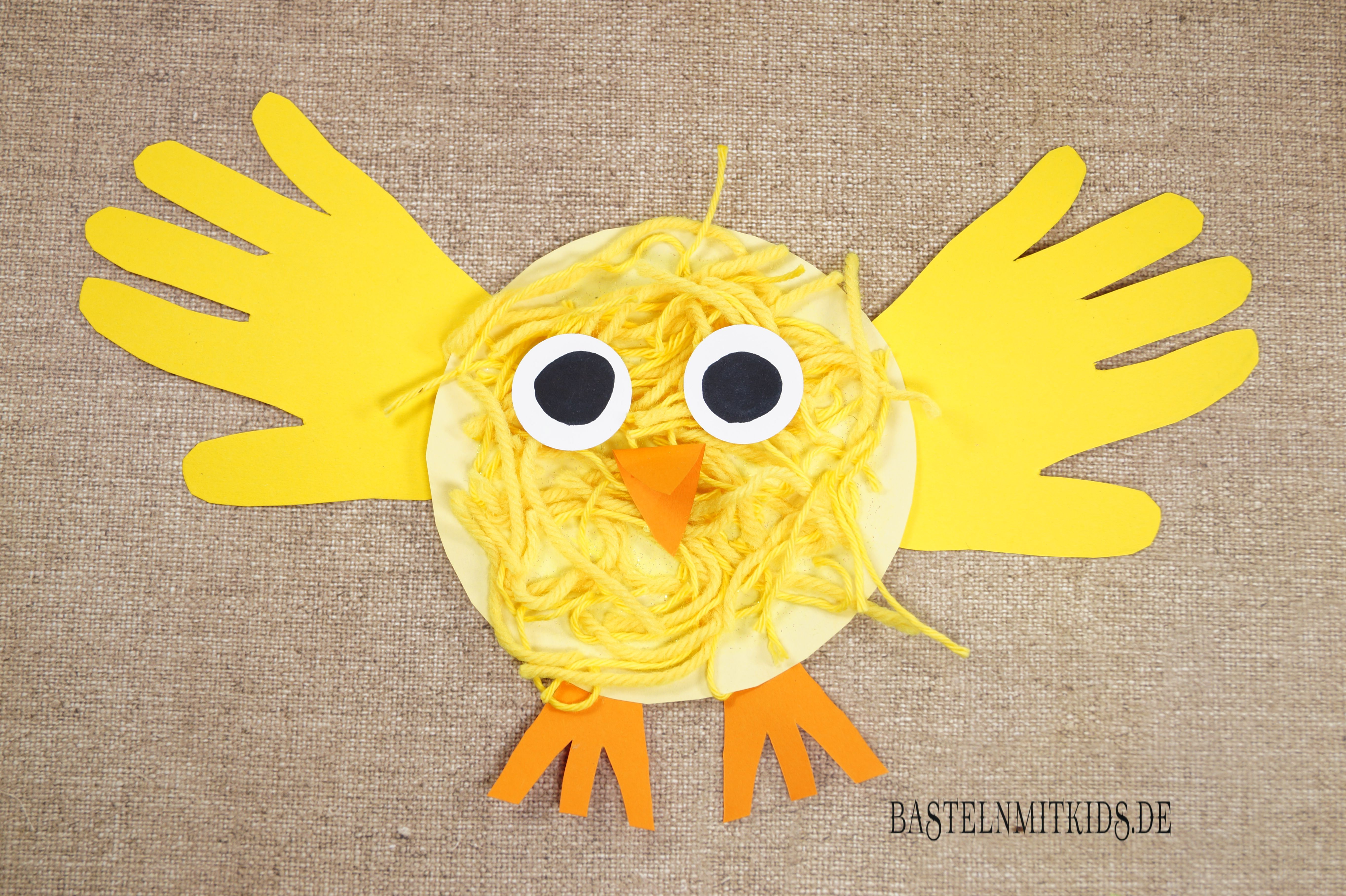 Küken Basteln Malen Oder Stempeln Küken Basteln Easter Crafts