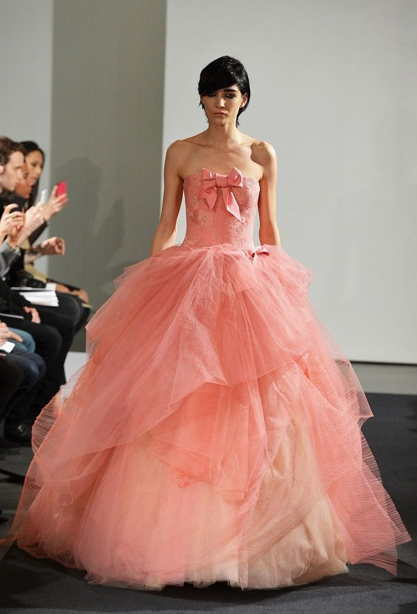 Vera Wang is So Over White! Check out Her Pink Bridal Collection for Fall 2014 | Page 6 of 7 | Femenista