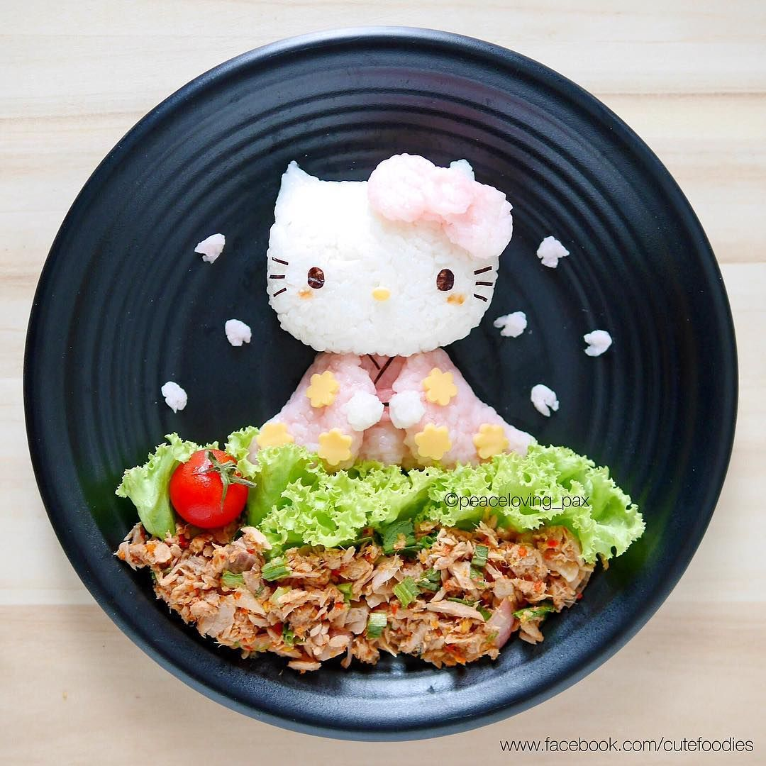 Hanami Hello Kitty By Pax Cute Food Peaceloving Pax With