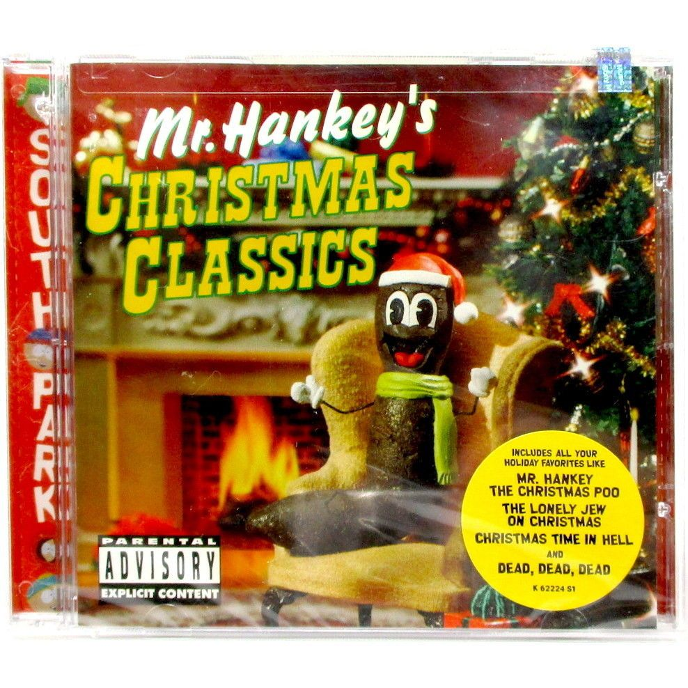 Mr. Hankey\'s Christmas Classics [PA] by South Park CD 2001 New/Sealed