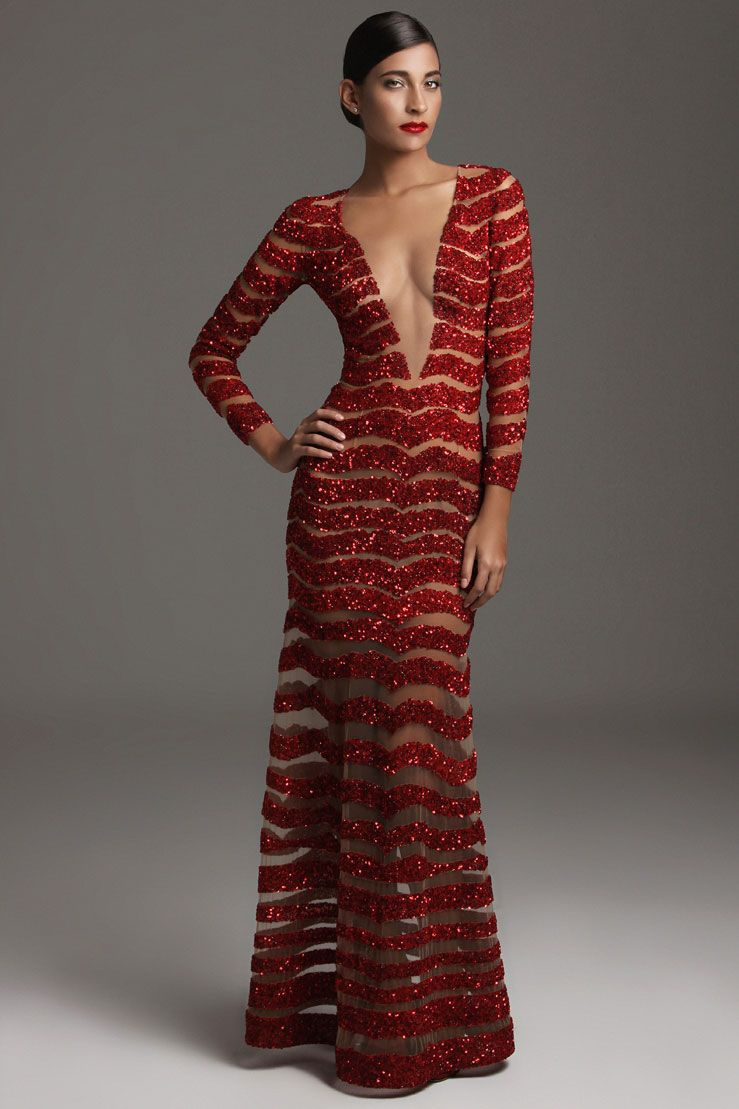 Evening gowns gionni straccia classy pinterest long sleeve