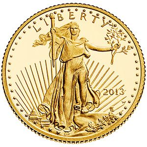 2013 American Eagle One-Tenth Ounce Gold Proof Coin (GA4)