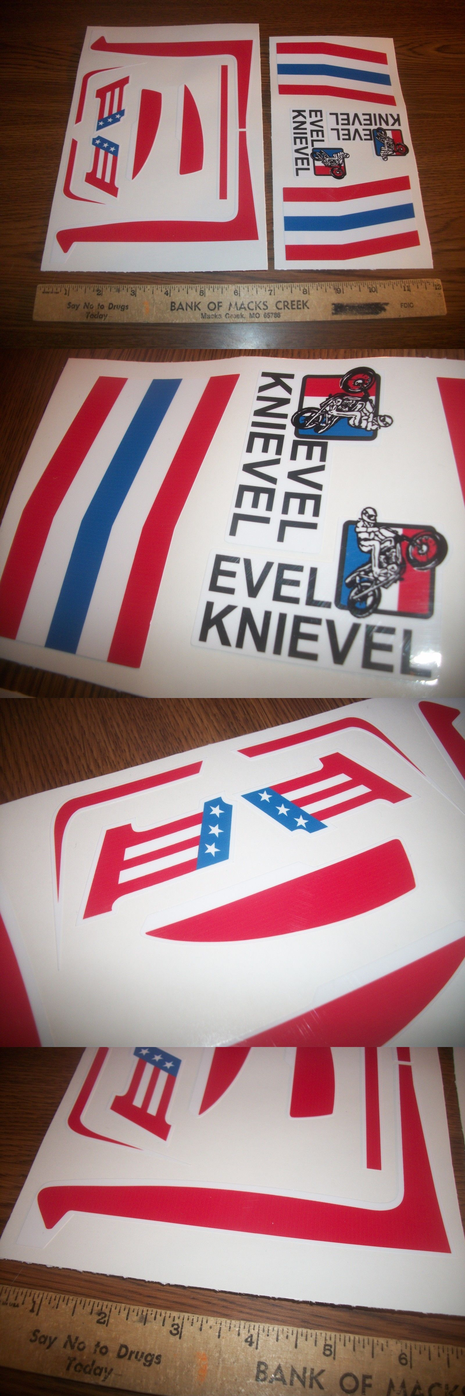 Character 723 evel canyon rig stickers buy it now only 12 on