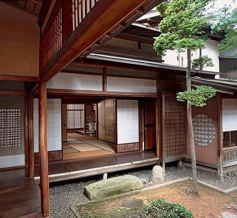 Japan places for Architettura giapponese tradizionale