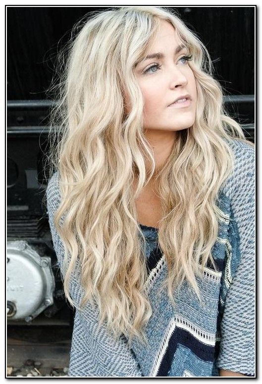 Hair Color Trends 2015 Spring Long Curly Hairstyles And Blonde Hair Color