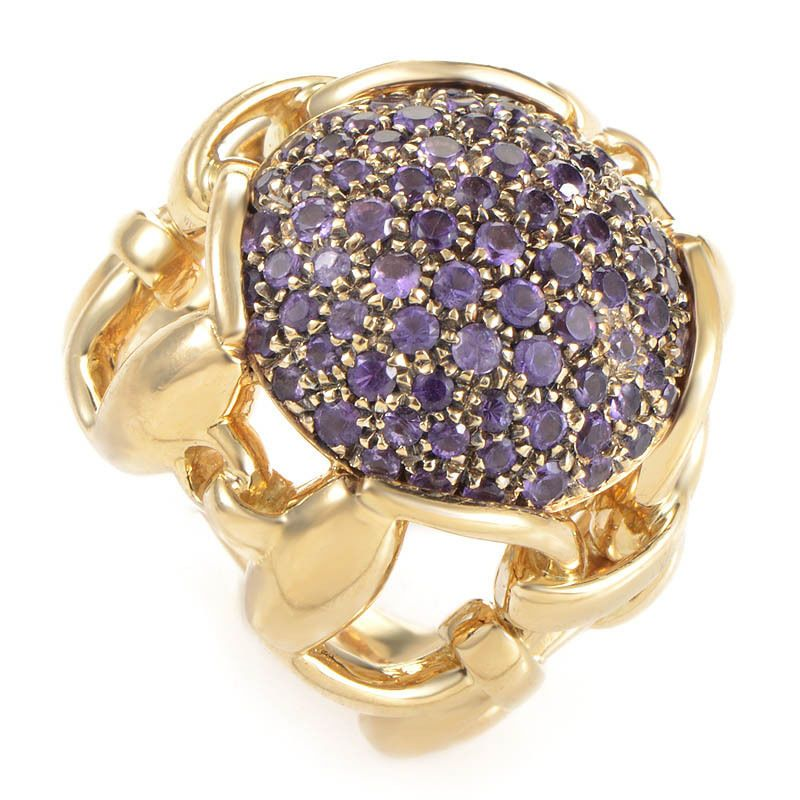077e8a25f Details about Gucci Horsebit Collection 18k Yellow Gold and Diamond ...