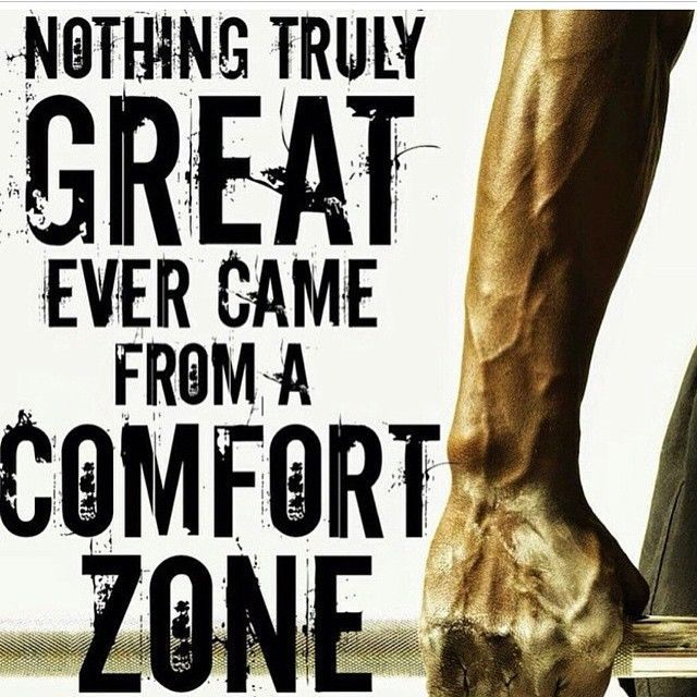 Nothing Truly Great Ever Came From A Comfort Zone Life Quotes Quot