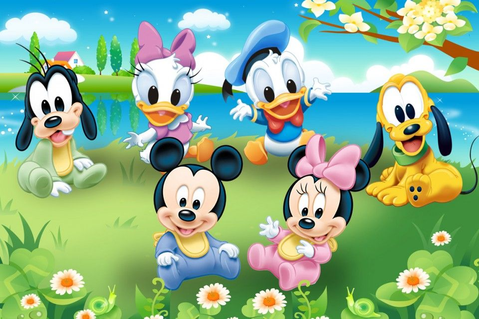 FunMozar Baby Mickey Mouse Wallpaper