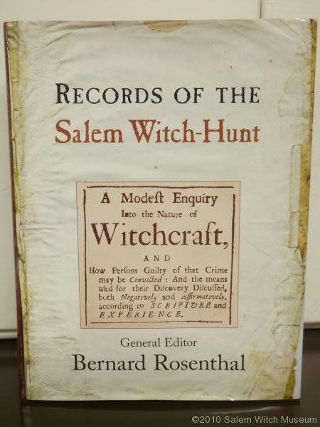 Registros de los Juicios     www.salemwitchmuseum.com