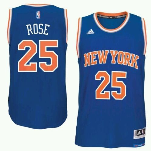 derrick rose authentic knicks jersey
