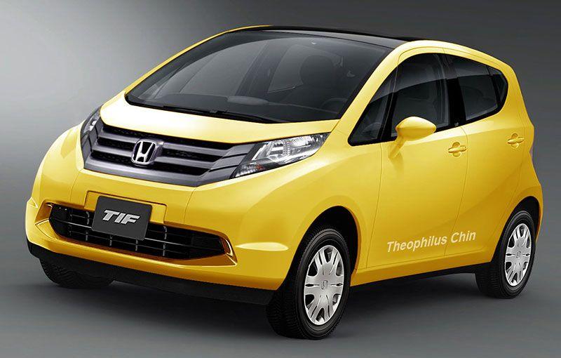 Hondas Small Car Codenamed 2CV