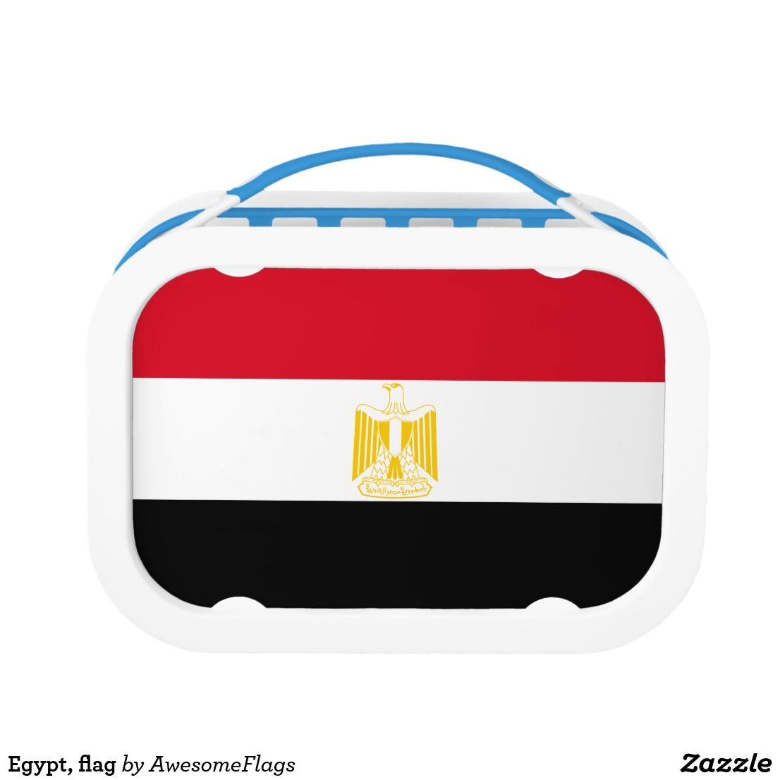 Egypt, flag lunch box | Flags and Kitchens