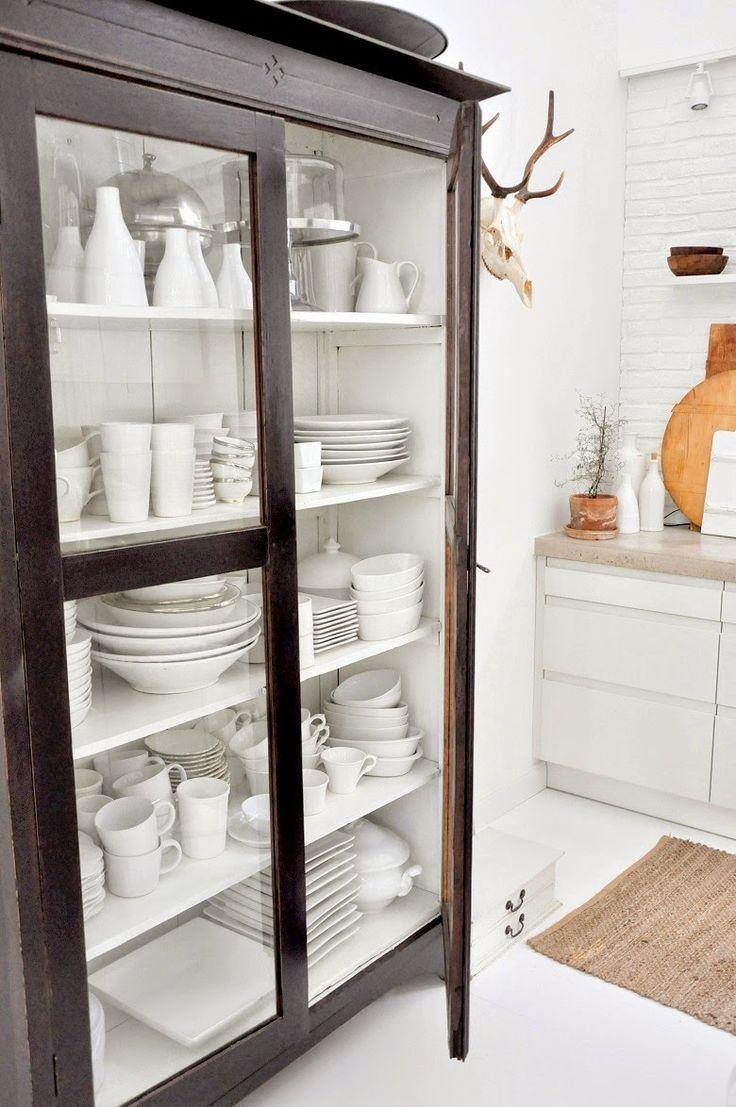Vitrinekast Voor Keuken.Vitrinekast Servieskast Meubels Dish Cabinet Home Decor En