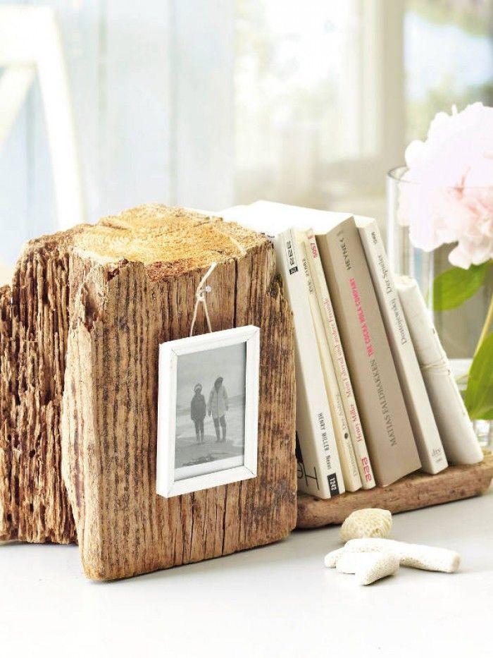 Buchstutze Aus Holz Mit Foto Selber Machen Basteln Design Diy