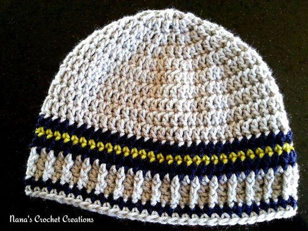 Crochet Men\'s Hat Free Patterns | Pinterest