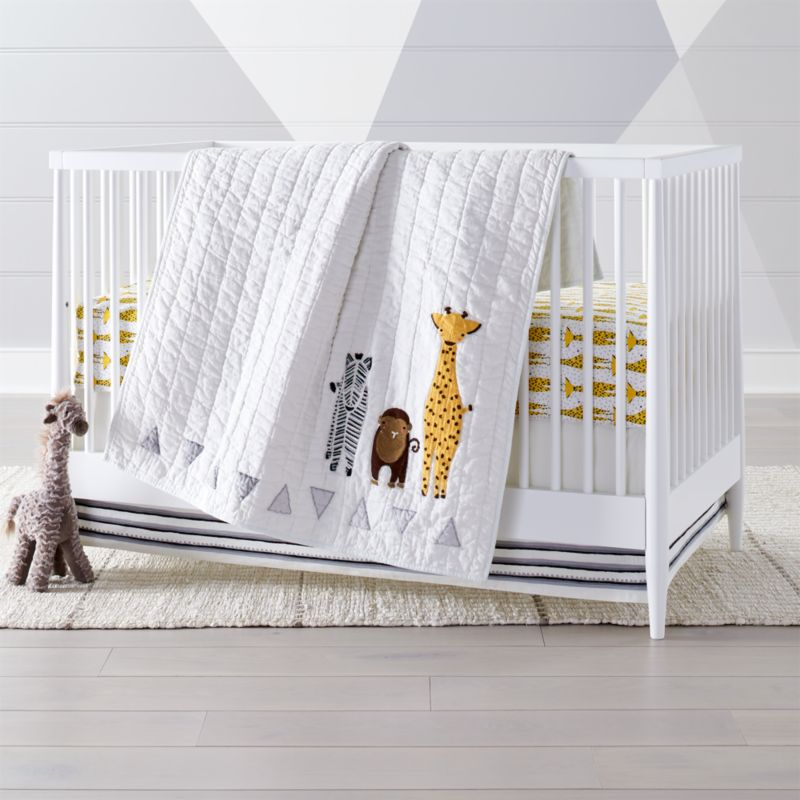 Savanna Safari Crib Bedding Crate And Barrel Crib Bedding Boy