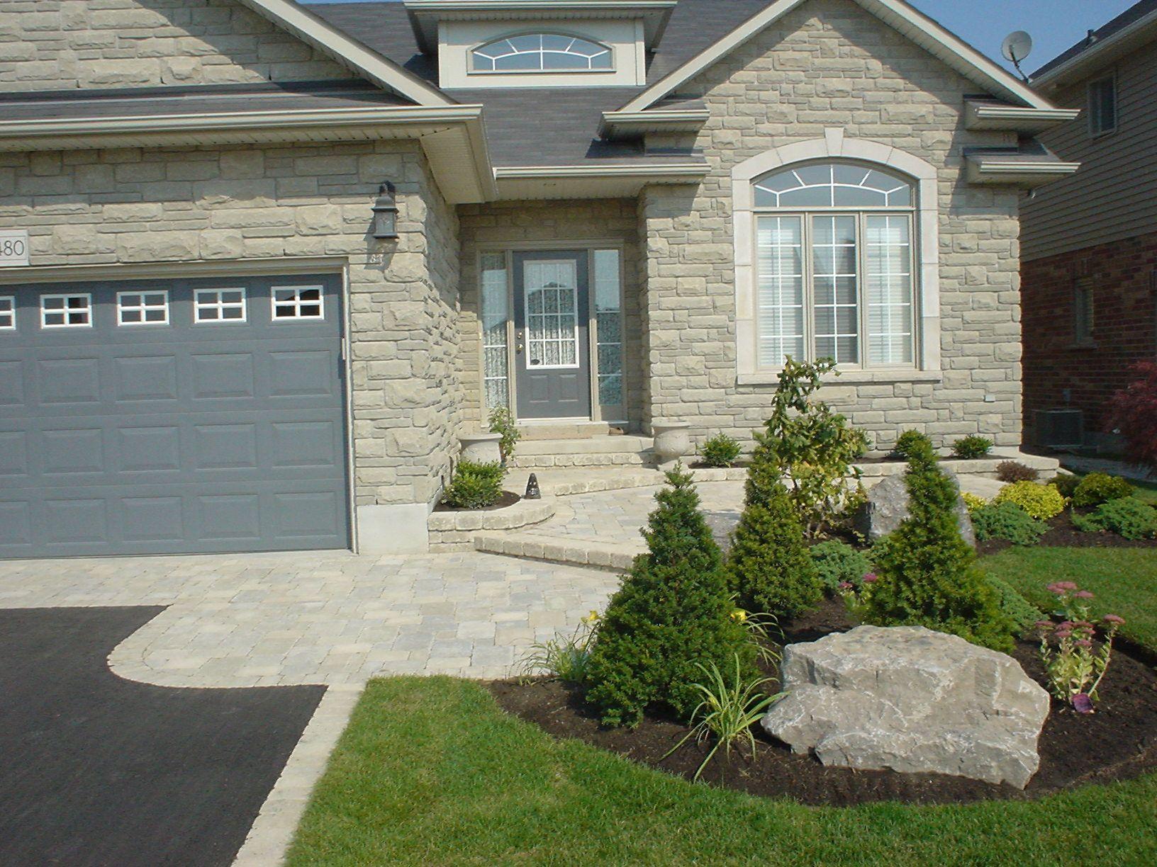 Front Entrance Landscape Design Ideas | landscape ...