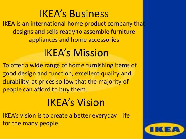 ikea mission - Recherche Google Mission \ Vision Pinterest - new 7 examples of mission statement