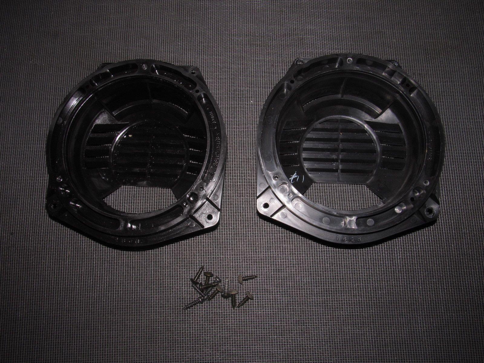 93 94 95 Honda Del Sol Oem Interior Fuse Box Autopartone Expert Diagram 96 97 Front Door Speaker Bracket Housing
