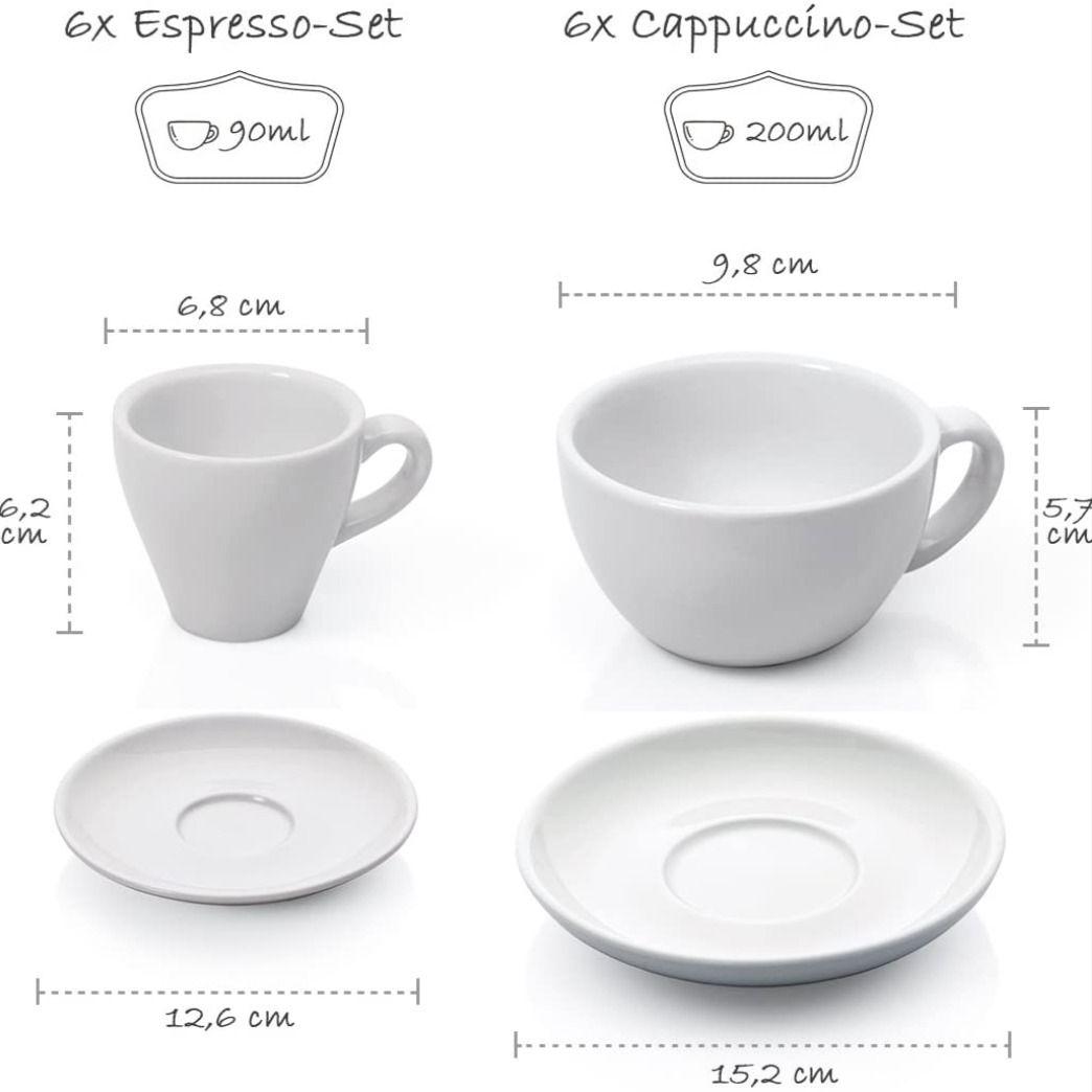 Pin Auf Kaffeetassen Espressotassen