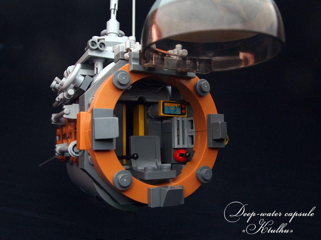 LEGO. Deep-water capsule KTULHU by DwalinF.deviantart.com on @DeviantArt