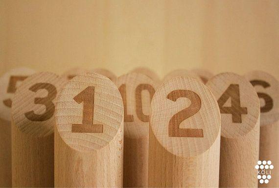 k li jeu de quilles en bois par youfactory sur etsy jeu de quilles jeux quilles