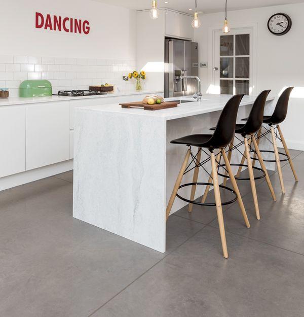 Delightful Polished Concrete Floor Lazenbyu0027s Iron Grey Polished Concrete Floor Covers  55m2 Of The Open Plan Ground