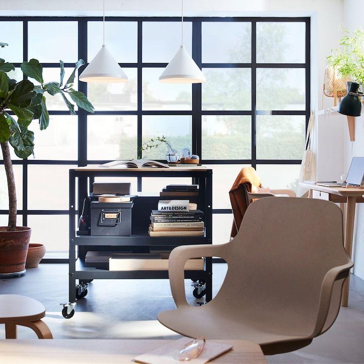 Un espacio elegante y versátil en casa | Ikea, Möbler