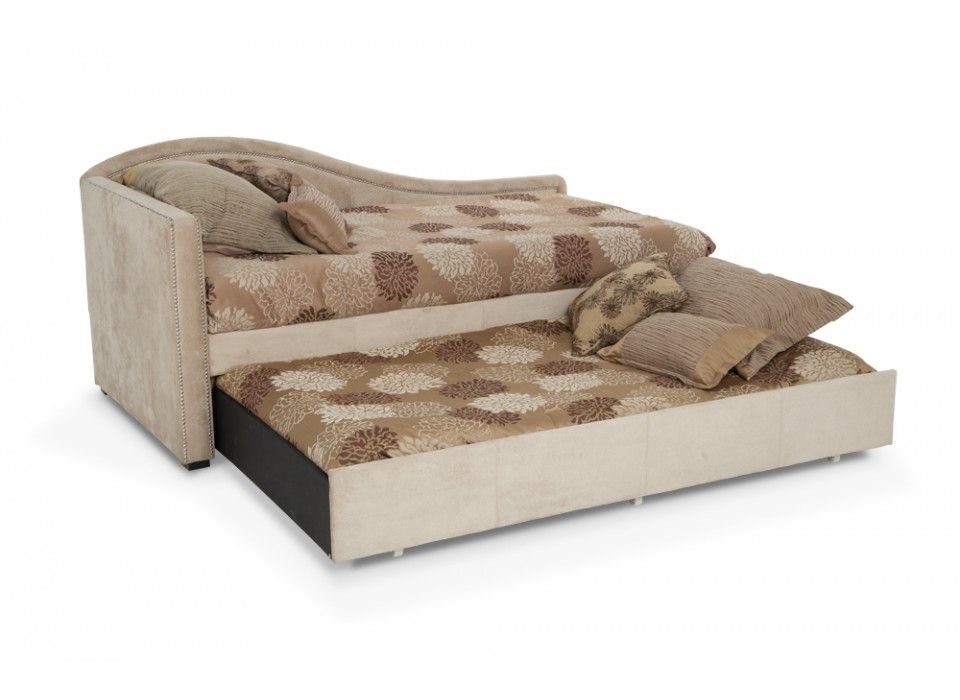 Olivia Daybed With 2 Perfection Twin Mattresses Beds