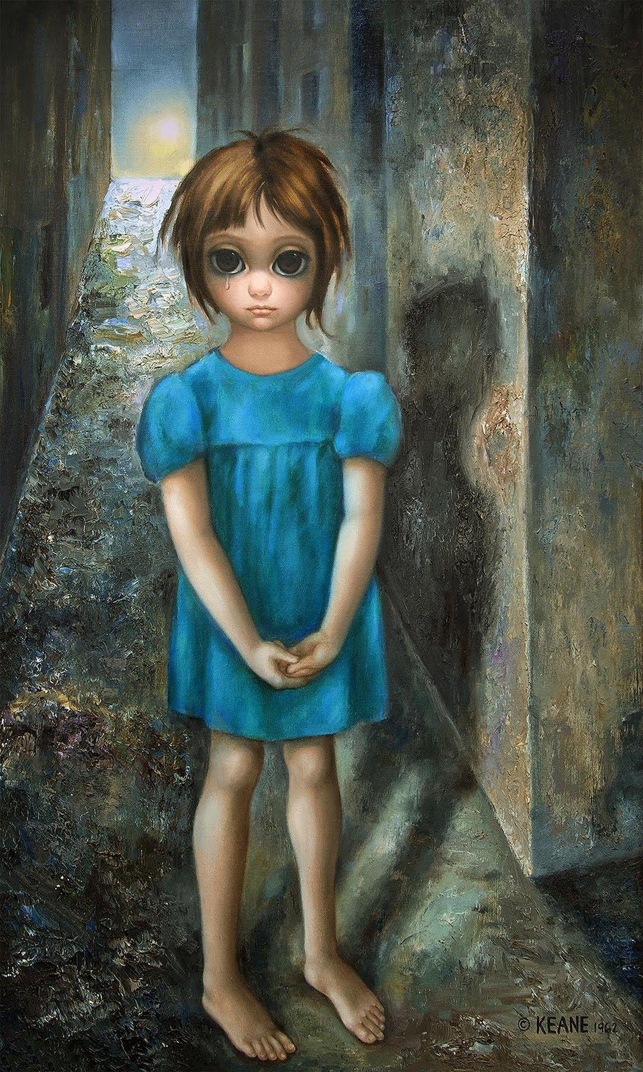 Big Eyes, paintings by Margaret Keane - ego-alterego.com  |Artist Keane Big Eyes