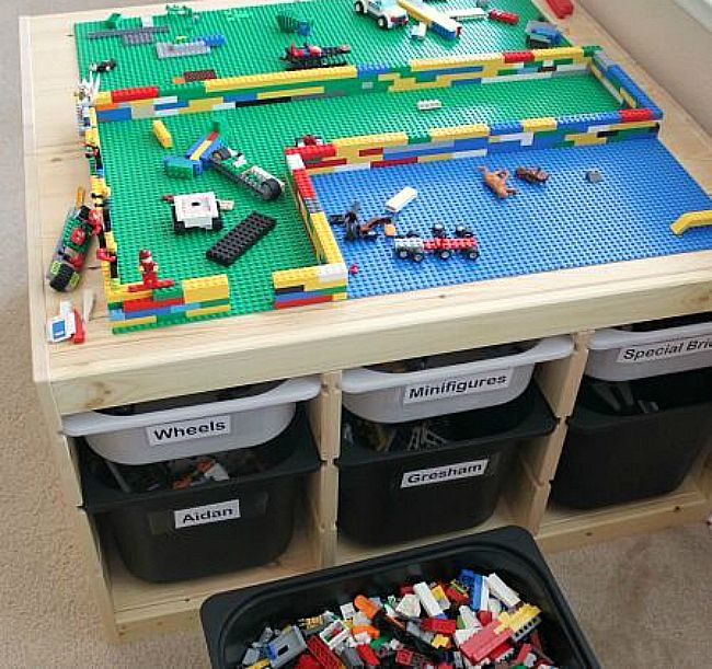 Customiser Bac De Rangement Trofast Ikea Idees Deco Pour La Maison