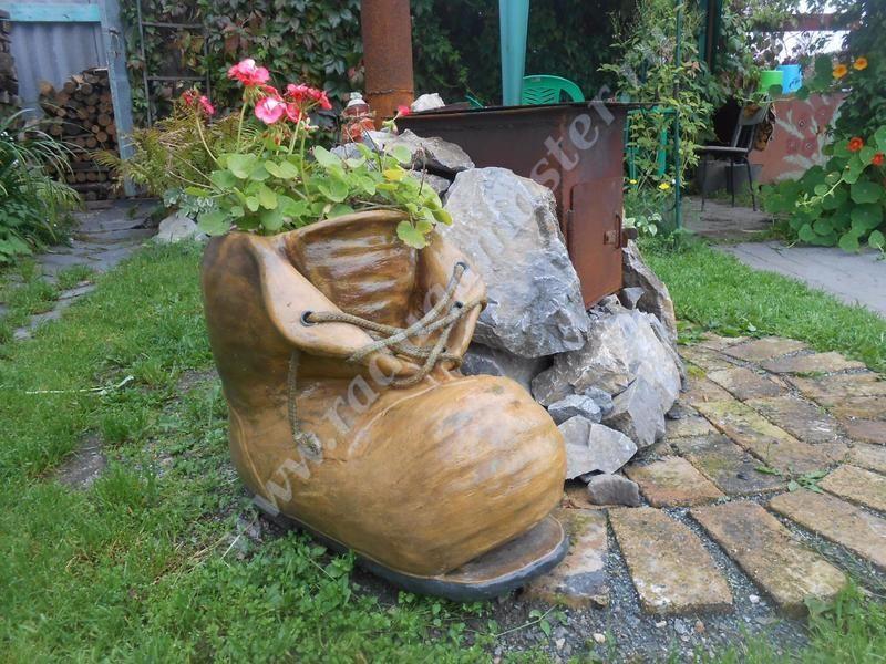 башмак из бетона