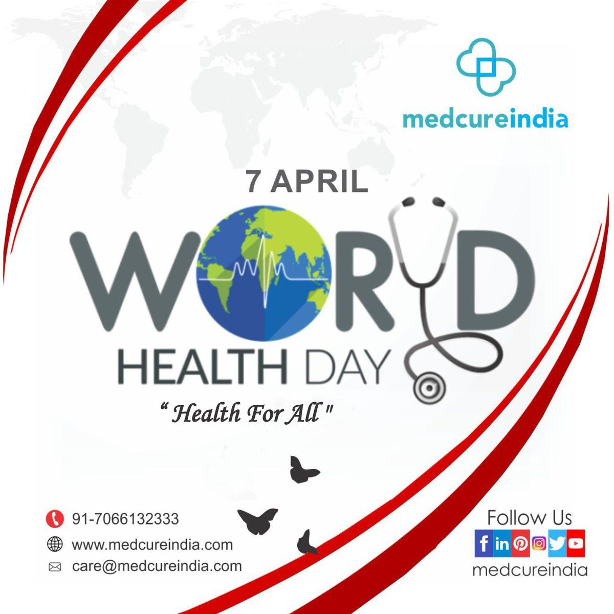 Medcureindia on in 2020 Health day, World health day