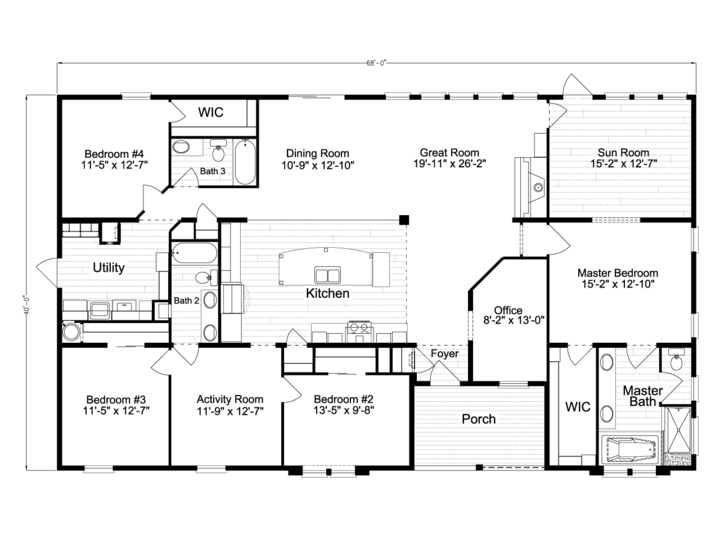 Floor Plan Tradewinds TL B