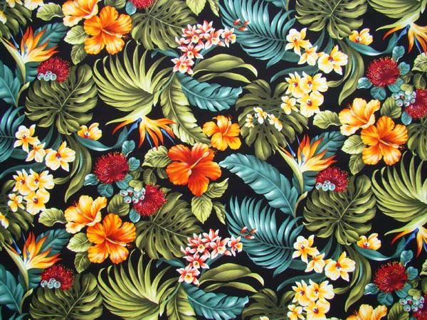 HAWAII PATTERN - Pesquisa Google | pattern, fabric ...
