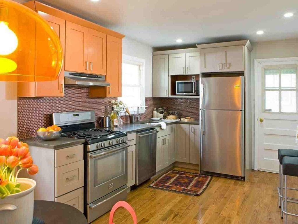 modern Kitchen Cabinets - orange Kitchen Cabinets | Kitchen Ideas ...