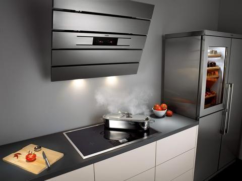 Die Dunstabzugshaube u2013 Techniken, Modelle, Zusatzfunktionen - moderne dunstabzugshauben küche