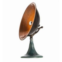 Wooster Copper Iron Accent Lamp #interiorhomescapes #lamp