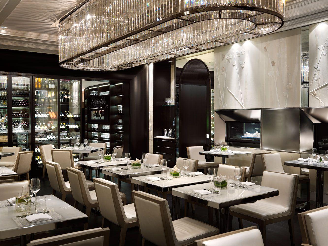 Hawksworth restaurant, vancouver. interior design by studio munge ...