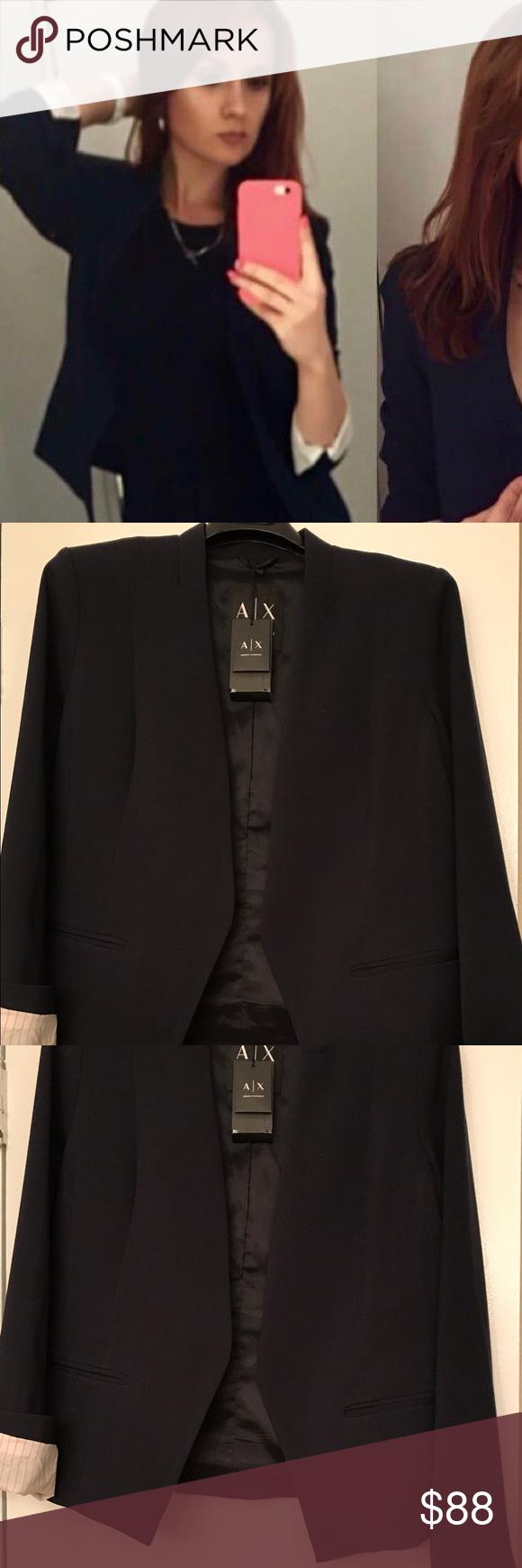 Armani exchange womenus jacket nwt in my posh picks