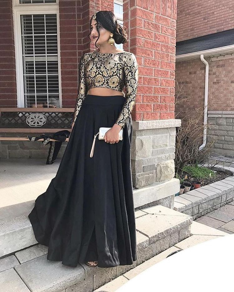 Indian dress change pics to black