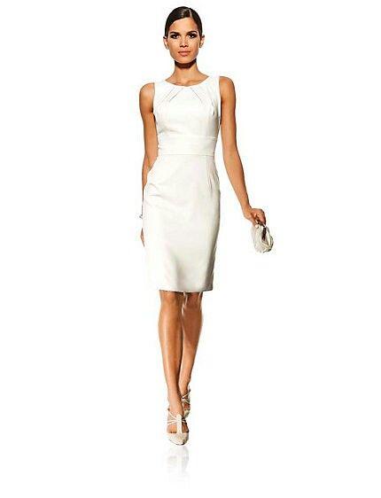 Heine Kleid   Standesamt   Pinterest   Hochzeitskleid, Kleider und ... 20cc2070c9