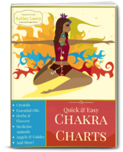 Quick Easy Chakra Charts Crystal Lovers - Love & Light School of Crystal Therapy